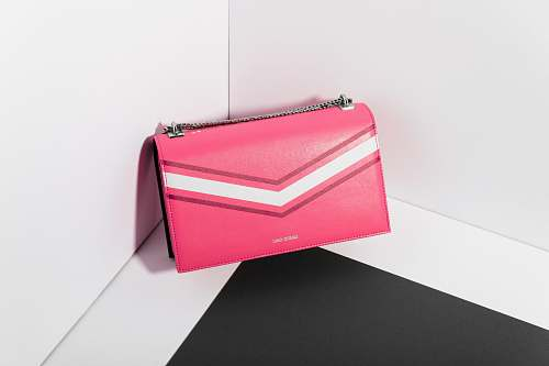 accessories pink leahter long wallet accessory
