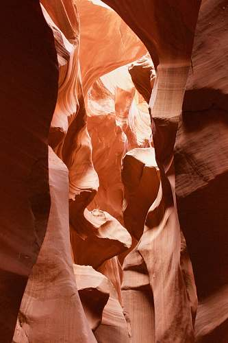 person antelope canyon during daytime people