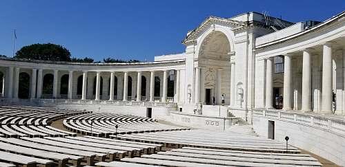 building empty white amphitheater architecture