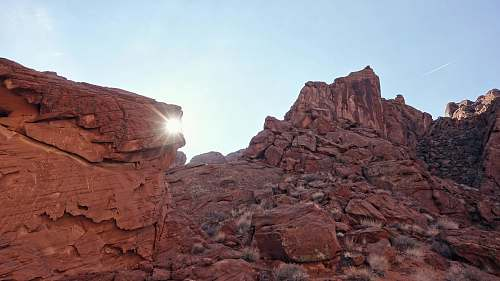 rock photo of rocky mountain valley of fire state park