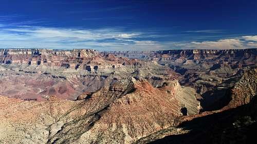 canyon rocky mountain valley