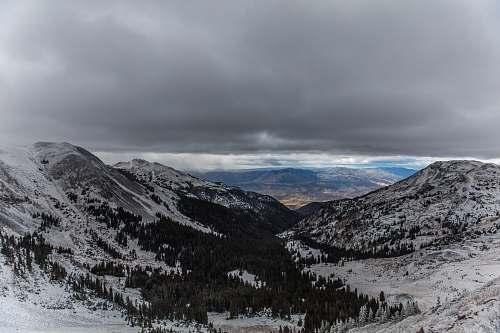 snow white and brown mountain during daytime tushar mountains