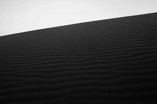 black-and-white  soil