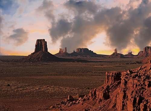 outdoors Grand Canyon landmark desert
