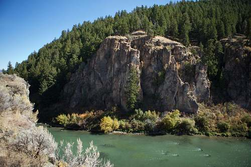 outdoors gray land formation cliff