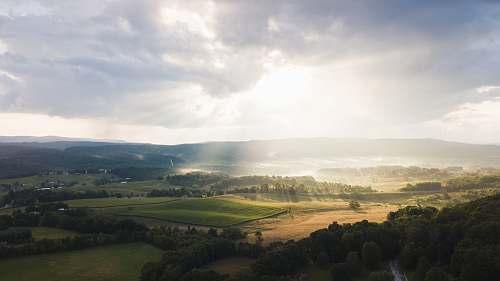 landscape green hill outdoors