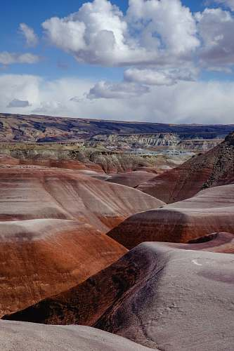 outdoors landscape photography of canyon desert