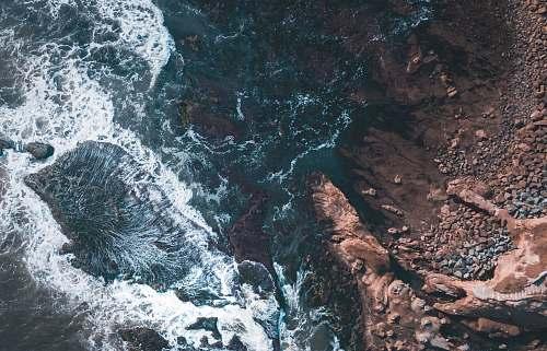 coast ocean whitewash photography ocean