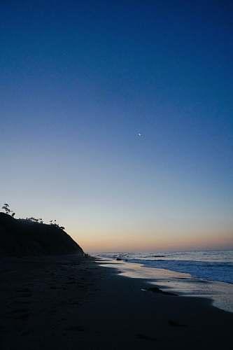 outdoors seashore viewing calm sea promontory