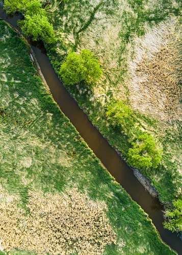 green aerial photography of river 20950 w greenfield ave