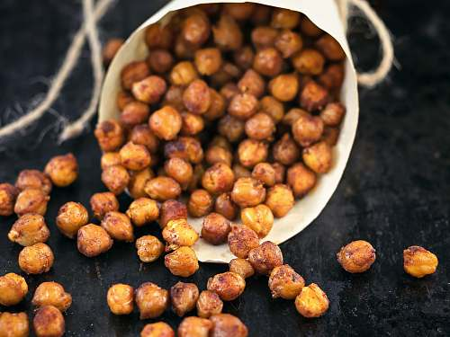 photo food roasted chickpeas nut free for commercial use images