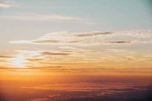 sunrise scenery of sunset sunset
