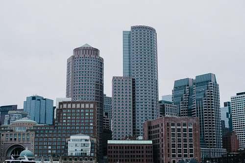 skyscraper landscape photography of buildings boston