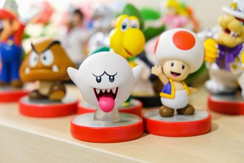 figurine Smash Bros characters figurine collection detroit