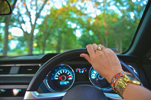 long island person holding steering wheel vacation