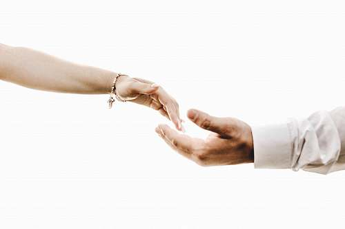 person man hand and woman hand human