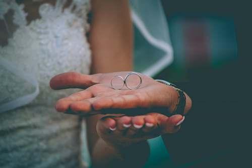 human wedding ring finger