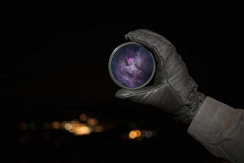 wallpaper person holding round purple case black wallpapers