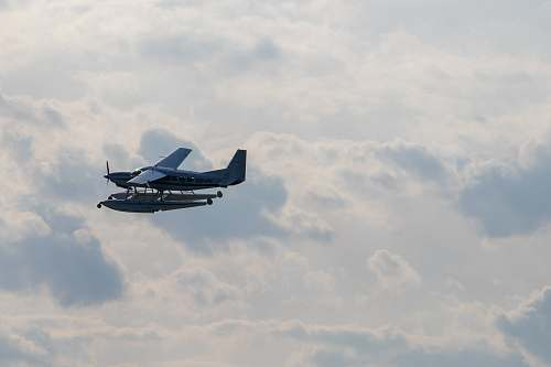 aircraft plane on midair transportation