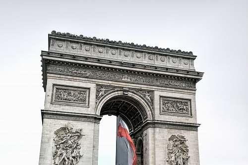 architecture Arc De Triomphe building