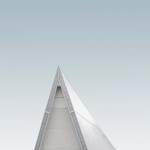 grey gray building tip triangle