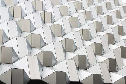 pattern white abstract geometric artwork background