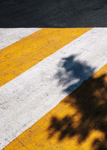 yellow yellow and white pedestrian lane mexico