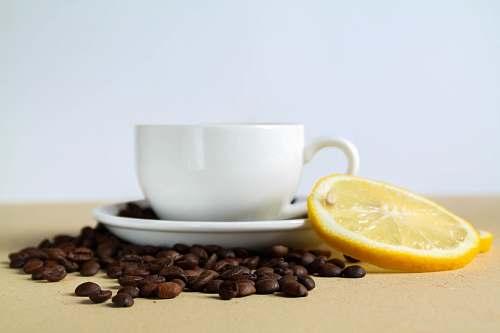 cup white ceramic mug food