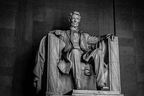 sculpture Abraham Lincoln statue art