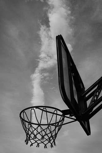 hoop basketball hoop during day basket
