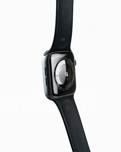 weaponry black Apple Watch with black Sport Band weapon