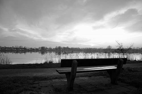 bench brown wooden bench furniture