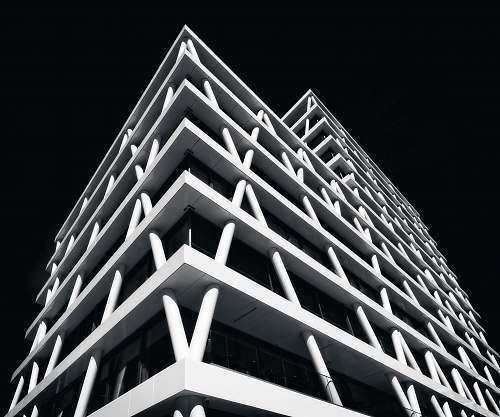 architecture building visual concept building