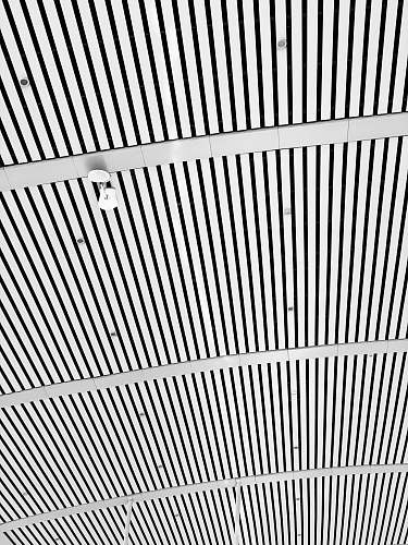taiyuan gray and white striped painting ceiling 山西省中国