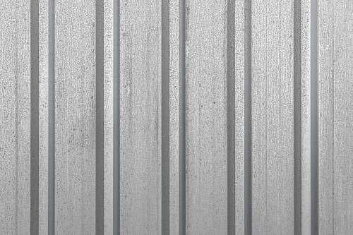 grey gray corrugated metal sheey morwowa