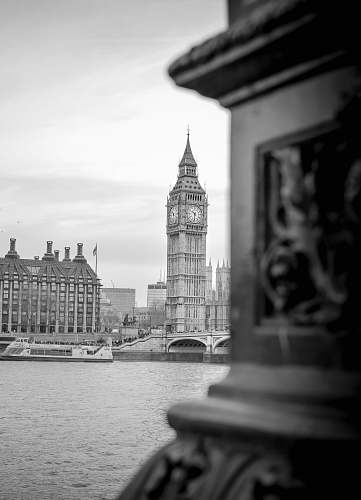 architecture grayscale Big Ben building