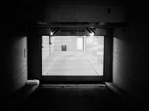 photo grey grayscale photo of garage door canning town free for commercial use images