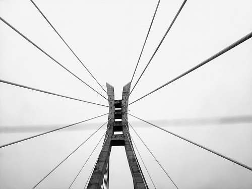 lekki - ikoyi link bridge grayscale photography of bridge lagos