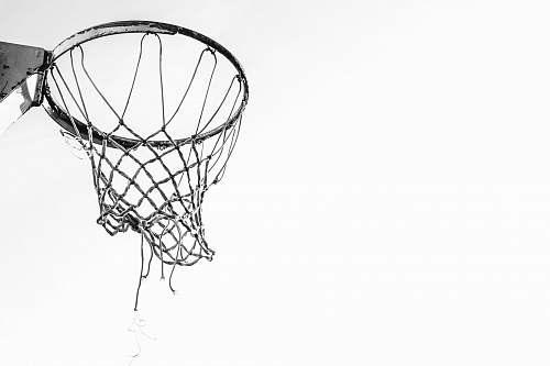 lamp grey basketball hoop hoop