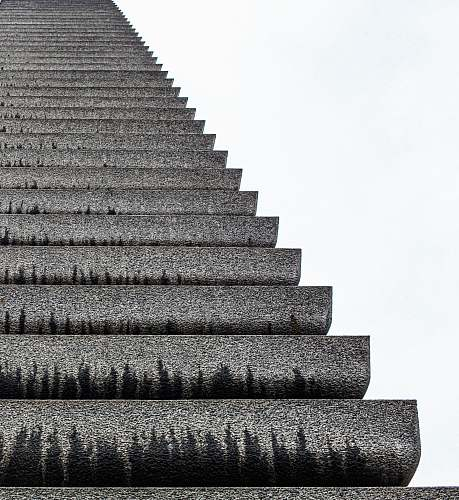 staircase grey ladder architecture