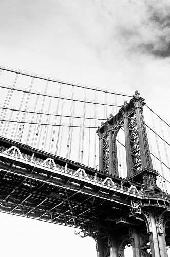 building low angle photo of Brooklyn bridge bridge