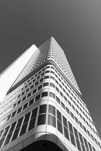 architecture low-angle photography of high-rise building building