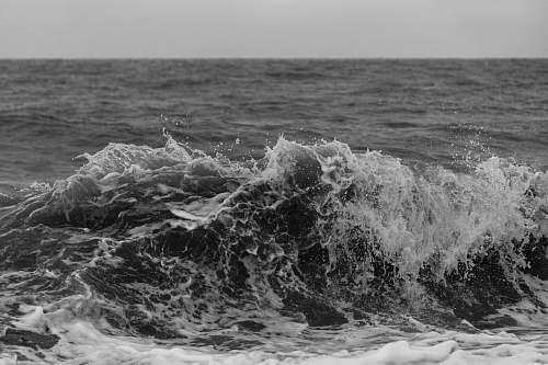 nature sea waves outdoors