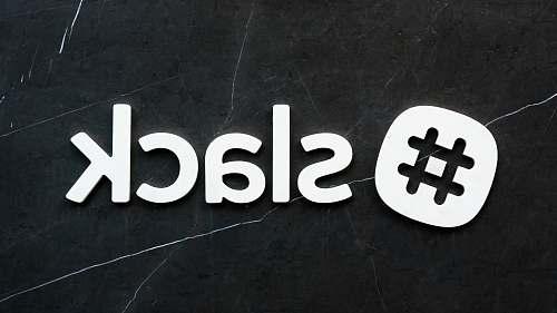 logo # slack text slack