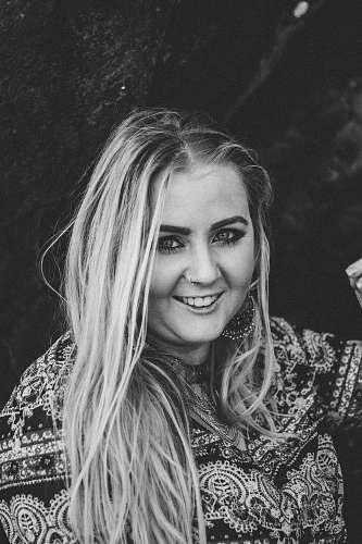human smiling woman face