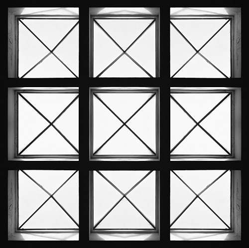 window square black framed glass window picture window