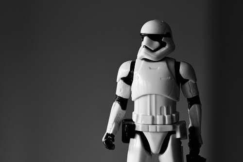 human Star Wars Stormtrooper action figure people