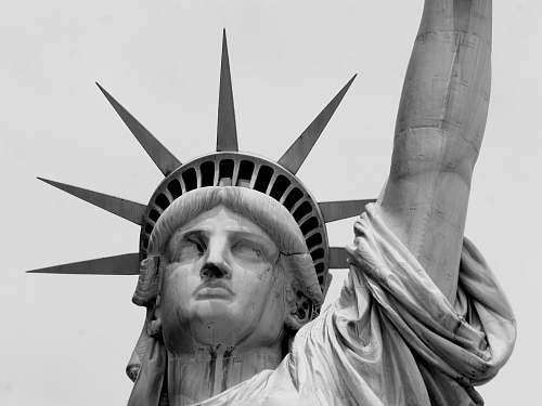 human Statue of Liberty statue of liberty
