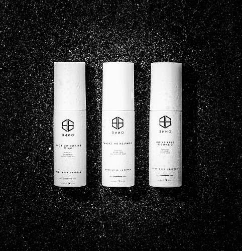 cosmetics white bottles cylinder