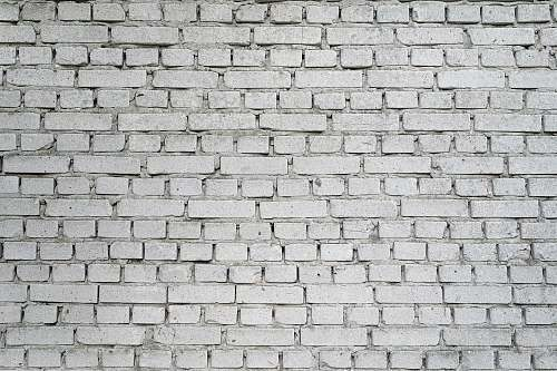 grey white brick wall texture